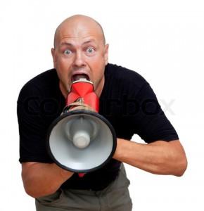 blog megaphone
