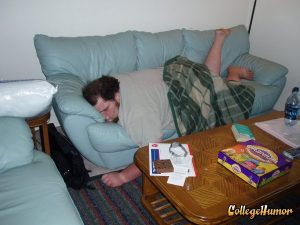 blog overweight person sleeping